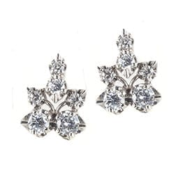 Diamond-Cluster-Earrings